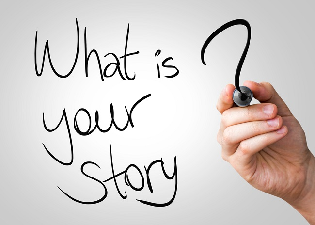 If you have a brand creates a story