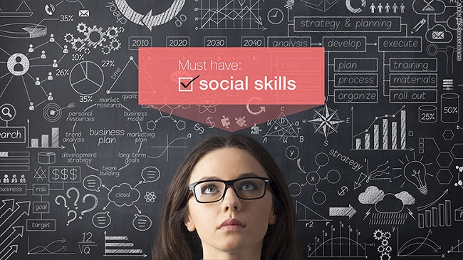 Why companies seek employees with more social skills
