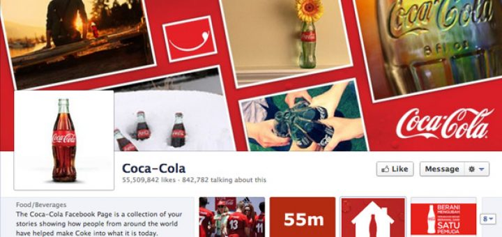 A Coca Cola does not get the numbers in the social networks