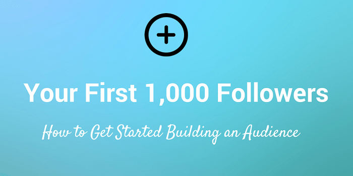 Does a Community Manager know how to get 1,000 Followers in a month