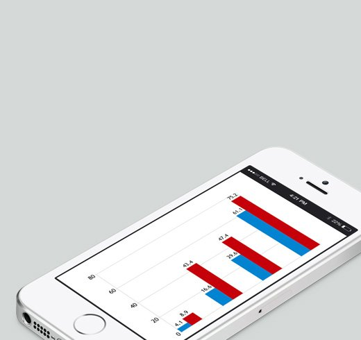 Businesses, satisfied with the results of their mobile advertising campaigns