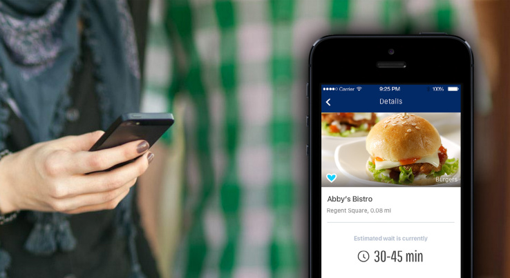Searches for restaurants on smartphones often end up seating customers